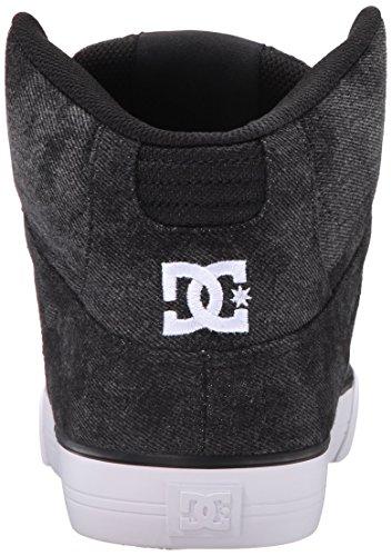 DC SPARTAN HI WC TX SE ADYS400004-BKB, Sneaker uomo Black Acid