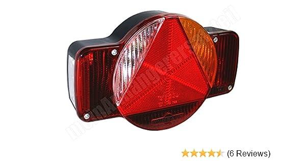 R/ückleuchte R/ücklicht Hecklicht Heckleuchte schwarz-rot rechts und links