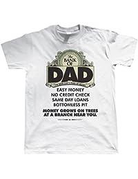 vectorbomb - Tshirt Imprimé Bank Of Dad Pour Hommes