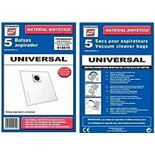 Bolsa sintetica aspirador Ufesa UNIVERSAL 5 UNIDADES 915619