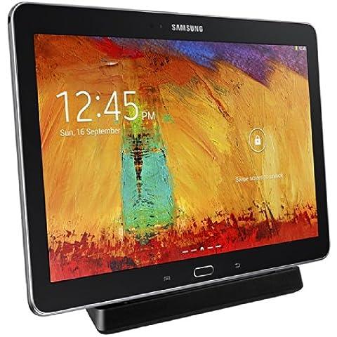 kwmobile Estación de carga micro USB para Samsung Galaxy Note 10.1 P600 Edition 2014 - Docking station micro USB cable de carga soporte de carga en