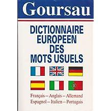 Dictionnaire européen des mots usuels