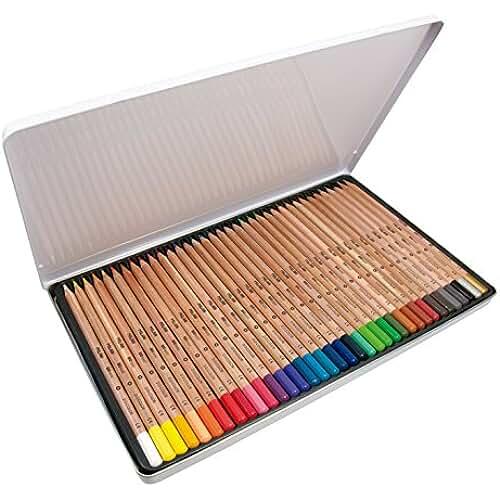 mas dibujos kawaii Milan 0726136 - Pack de 36 lápices de colores, mina grande