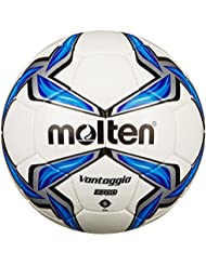 molten Fußball F5V3700, Weiß/Blau/Silber, 5, F5V3700