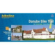 Danube Bike Trail: German Danube from Donaueschingen to Passau Vol 1