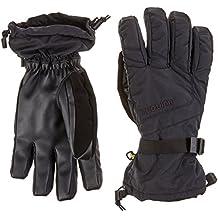 Burton Profile Glove - Guantes de snowboard y ski para hombre, invierno, hombre, color negro - negro, tamaño L