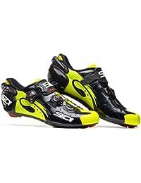 Zapatos ruta Wire Carbon 2017, negro/amarillo, 40