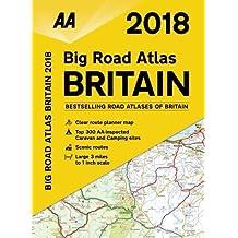 AA Big Road Atlas Britain (Aa Road Atlas Britain)