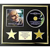 ANDREA BOCELLI/CD Display/Edicion Limitada/Certificato di autenticità/THE BEST OF - VIVERE