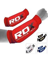 RDX Boxeo Brazo Protector Codo Antebrazo Protecciones Coderas Kickboxing Forearm Arm Sleeve