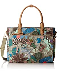 Oilily Botanic Pop Office Bag Nori Green