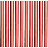 Shappy 10 Piezas Barras de Lacre Cera de Pistola de Pegamento Flexible para Sello de Lacre Retro Vintage y Carta (Rojo de Vino)