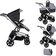 Nurse Town 3 Pro - Sistema modular de silla de paseo y capazo, color negro / antracita