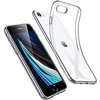 ESR Funda para iPhone SE 2020/8/7 [Funda TPU][No amarillea][Tapa Trasera de Solo 1,1 mm] [Esquinas con Absorción de Golpes][Funda de Silicona Flexible] Funda para iPhone SE 2ª Generación Transparente