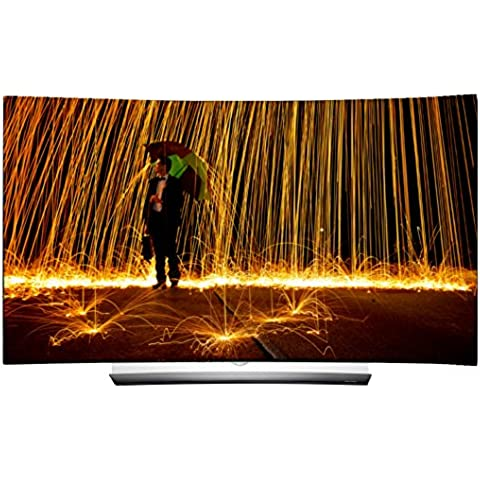 LG OLED65C6D 164 cm (65 Zoll) Curved OLED Fernseher (Ultra HD, Dual Triple Tuner, Smart TV, 3D