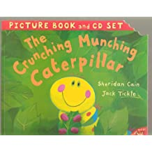 The Crunching Munching Caterpillar Picture Book and Cd Set