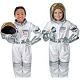 Fancydresswale Premium Community Helper Theme Costume For Fancy Dress Competitions, Role Play And School Functions For Kids (Astronaut, 4-6 Years)