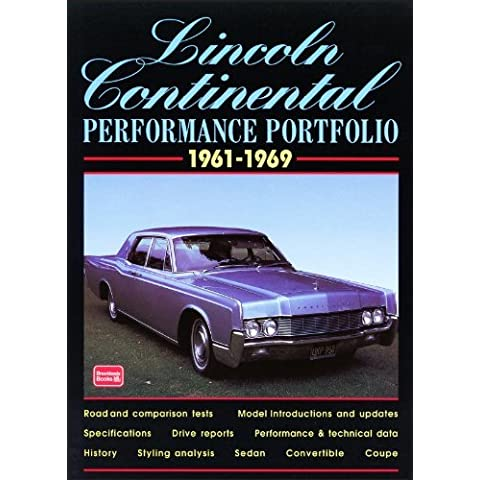 Lincoln Continental 1961-1969 Performance Portfolio by R.M.