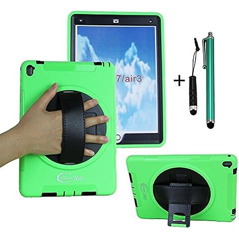 cellular360supporto per Apple iPad Pro (12,9pollici) antiurto robusto da spalla con supporto girevole a 360gradi, una mano Grip Strap e una tracolla regolabile