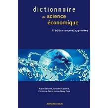 Dictionnaire de science économique (Économie)
