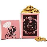 VSD BHAI DOOJ Special Best Sister Dry Fruits Gift Pack for Sister - 500 GM Almonds