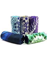 Favobodinn Premium Multifunktion Handtuch 100% Microfaser sehr gut für hot yoga pilates sport travel