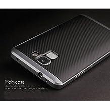 Funda Huawei Honor 7 , Ipaky Protector Huawei Honor 7 Marco Bumper Carcasa Huawei Honor 7 Ultra Slim Cover Case
