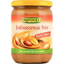 Rapunzel Erdnussmus fein, 1er Pack (1 x 500 g) - Bio