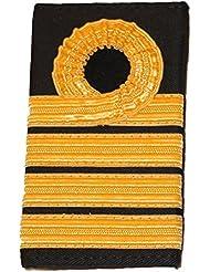 Paire de la Royal Navy Capitaine–Dentelle Rank Lames/épaulettes