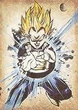"Poster Dragon Ball ""Wanted"" Vegeta SSJ - A3 (42x30 cm)"