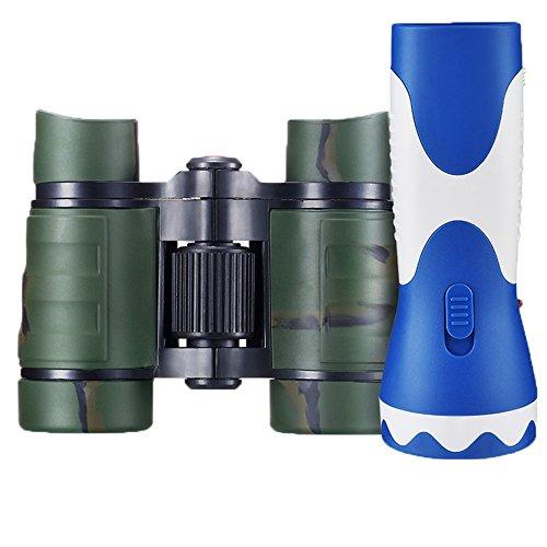 PIGE 4X30 Fernglas Einsteiger Teleskop Handheld für 2-4Jahre Alt Kinder Kinder süß Zum Anschauen...