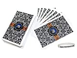 #1: Poker Baazi 54 Playing Cards - Very Fine Quality Plastic Playing Cards + 1 Band