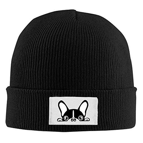 Pillow hats WARMGoo Adult Knit Hat Beanies Cap Winter Warm Cap - Cute Baby French Bulldog ()