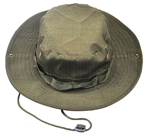 Imagen de jitty sombrero militar del camuflaje, sombrero redondo del sol, sombrero barril de los hombres y las mujeres,sombrero del pescador alternativa