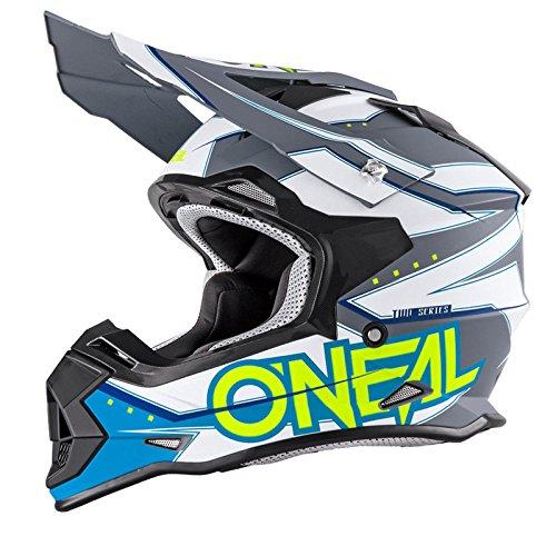 O'Neal 2Series RL MX Helm Slingshot blau Moto Cross Enduro Quad Offroad DH, 0200-04, Größe M