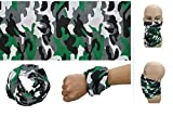 #9: SBE Breathable Stretchable Cycling Biking Multifunction Face Mask Scarf Hijab Bandana For Men And Women