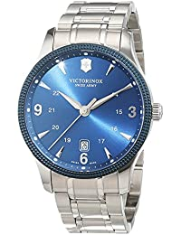Victorinox Swiss Army Unisex Reloj de pulsera analógico cuarzo acero inoxidable 241711.1