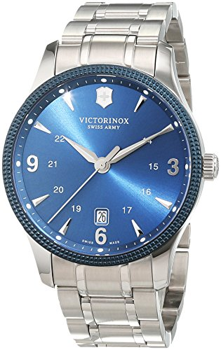 Victorinox Swiss Army Unisex-Armbanduhr Analog Quarz Edelstahl 241711.1 (Herren Swiss Watch Army)