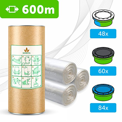 600 M - ECO Recarga compatible Sangenic Tommee Tippee