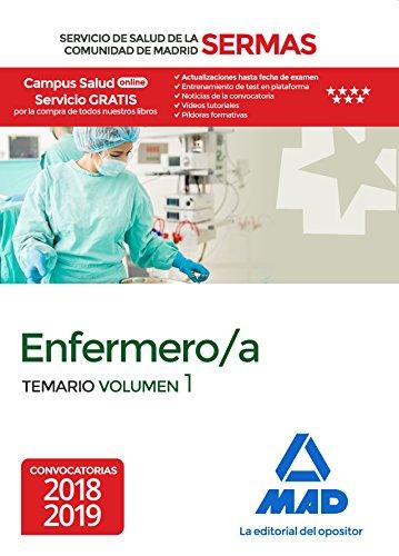 Enfermero/a del Servicio de Salud de la Comunidad de Madrid. Temario Volumen 1