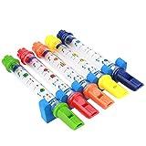 Cadillaps 5 Farbe Badenwann Spielzeug Badespielzeug Wasser Flötenspiel Für Kinder Urlaub Geschenk Ab 3 Jahre