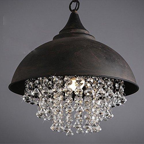 Copertura a cristallo industriale d'epoca Hotel Club decorate il lampadario del soggiorno