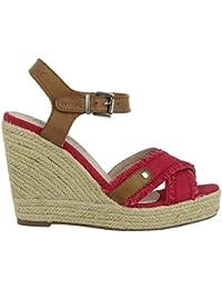 Zapatos de cuña de Mujer REFRESH 61953 ANT NEGRO Talla 36 Joy7Q