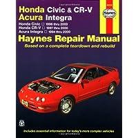 Honda Civic and Cr-V Acura Integra Automotive Repair Manual: 1994-2000 - 1998 Honda Acura