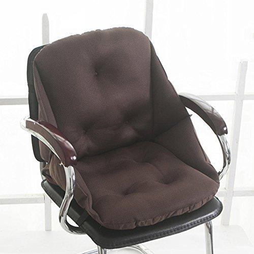 xianw Hochwertige Sitz- und rückenkissen Combo - polyurethan-Memory Schaum - atmungsaktive mesh-abdeckungen - Zwei verstellbare Gurte - ideal für schmerzlinderung-A 45x52x52cm(18x20x20)