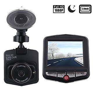 AMYMGLL 2,4-Zoll-Laufwerk Recorder Mini Auto Aufnahme 90-Grad-Weitwinkel 1080P HD-Aufnahme