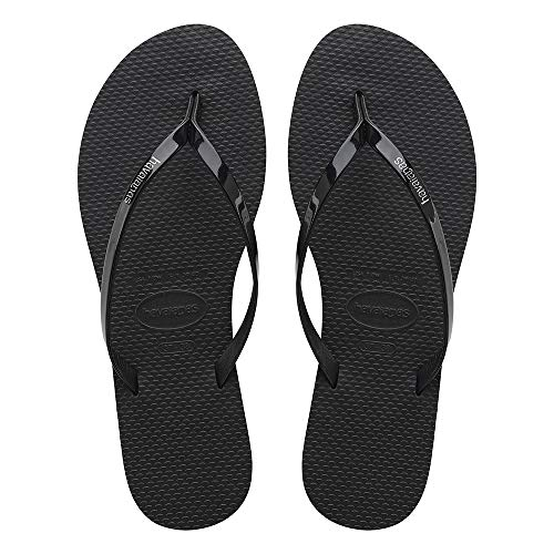 Havaianas You Metallic, Infradito Donna, (Black), 39/40 EU