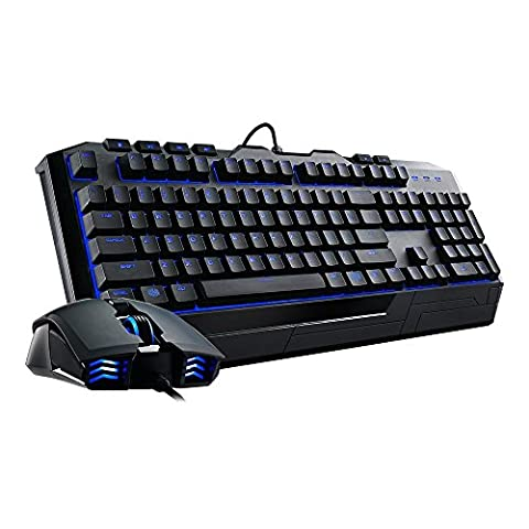 Cooler Master STORM Devastator II Tastatur +Maus Desk Set blaue LED´s