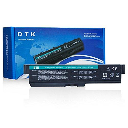 Dtk® Ultra Hochleistung Notebook Laptop Batterie Li-ion Akku für Toshiba PA3817U-1BRS PA3819U-1BRS Satellite C600 C655 C675 A660 A665 L600 L630 L635 L640 L645 L650 L655 L655d L670 L675 L700 L730 L735 L740 L745 L750 L750d L770 L775 L775d M640 M645 P740 P745 P750 P770 P775 Series [Li-ion 12-cell 10.8V 8800mah/96wh] Notebook battery
