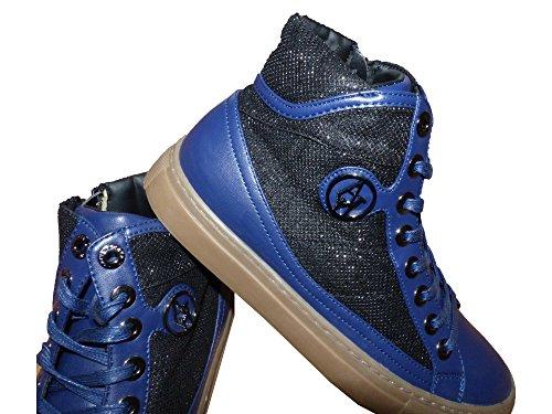 Armani Jeans 9250016a438, Sneakers basses femme Blau (PATRIOT BLUE 31735)